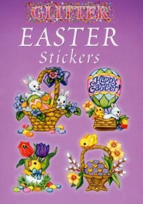 Glitter Easter Stickers 9780486438399
