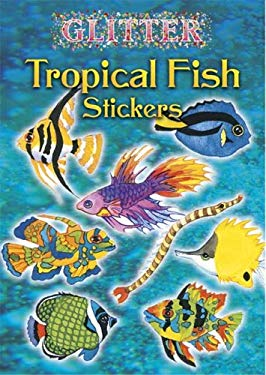 Glitter Tropical Fish Stickers 9780486444574