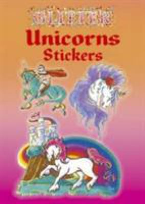 Glitter Unicorns Stickers 9780486435381