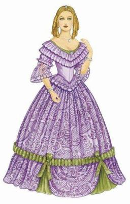 Godey's Early Victorian Fashions Paper Dolls 9780486436876