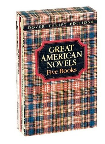 Great American Novels (5 Vols.) 9780486286655