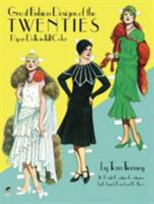 Great Fashion Designs of the Twenties Paper Dolls 9780486244822