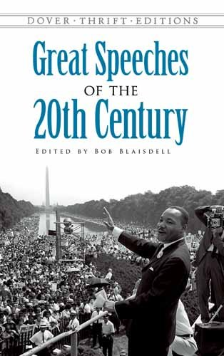 Great Speeches of the Twentieth Century 9780486474670