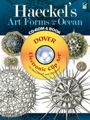 Haeckel's Art Forms from the Ocean CD-ROM and Book 9780486991177