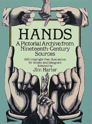 Hands: A Pictorial Archive from Nineteenth-Century Sources 9780486249599