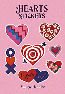 Hearts Stickers: 28 Pressure-Sensitive Designs 9780486277165