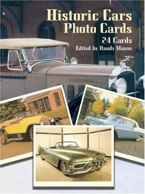 Historic Cars Photo Cards: 24 Cards 9780486258935