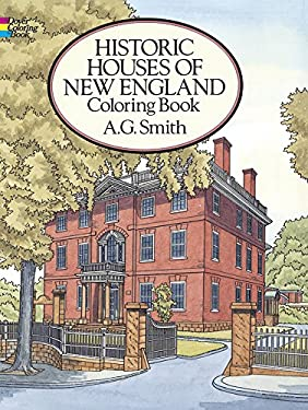 Historic Houses of New England Coloring Book 9780486271675