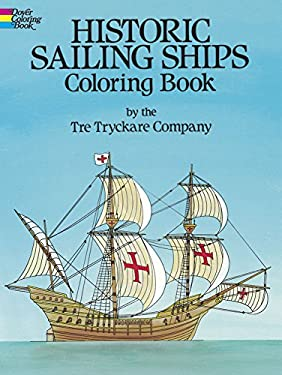 Historic Sailing Ships Coloring Book 9780486235844