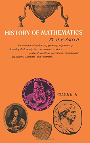 History of Mathematics, Vol. II 9780486204307