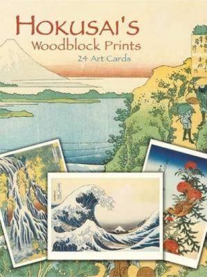 Hokusai's Woodblock Prints: 24 Art Cards 9780486448527