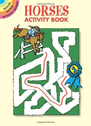 Horses Activity Book 9780486441955