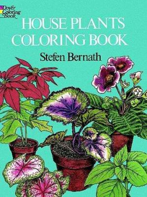 House Plants Coloring Book 9780486232669
