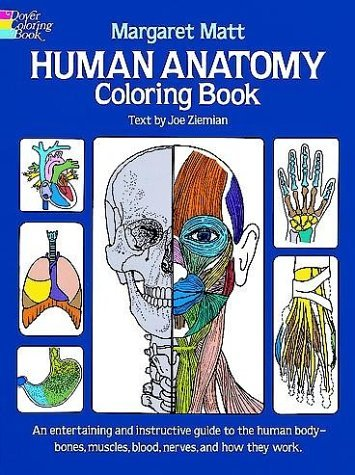 Human Anatomy Coloring Book 9780486241388