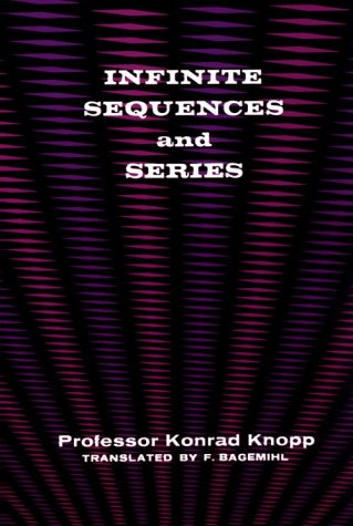 Infinite Sequences and Series 9780486601533