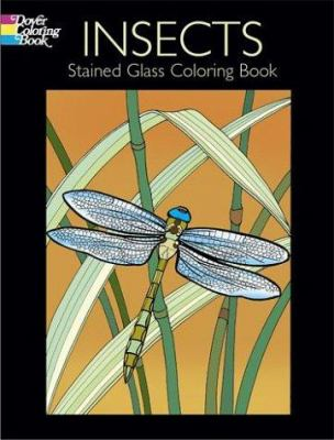 Insects Stained Glass Coloring Book 9780486430478