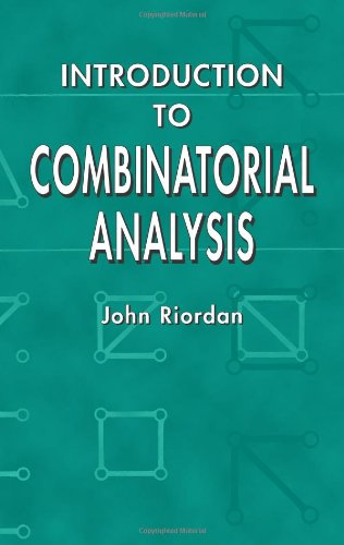Introduction to Combinatorial Analysis 9780486425368