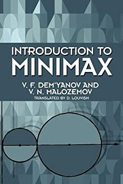 Introduction to Minimax 9780486664231