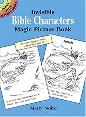Invisible Bible Characters Magic Picture Book 1601583