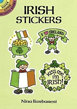 Irish Stickers 9780486265902