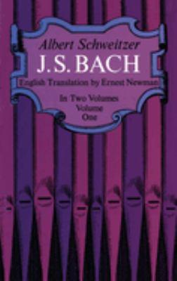 J. S. Bach, Vol. 1 9780486216317
