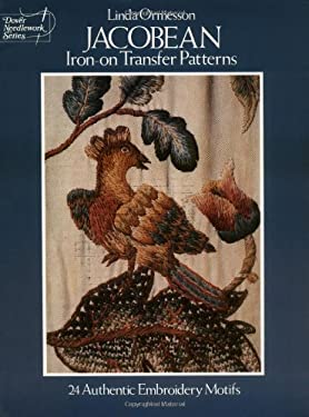 Jacobean Iron-On Transfer Patterns 9780486236391