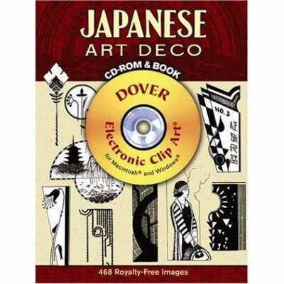 Japanese Art Deco [With CDROM] 9780486990309