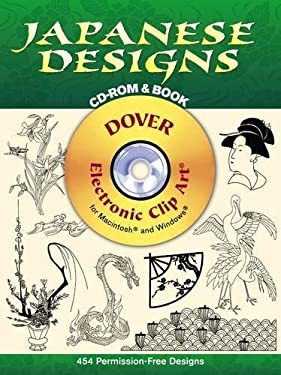 Japanese Designs CD-ROM and Book [With CDROM] 9780486995090