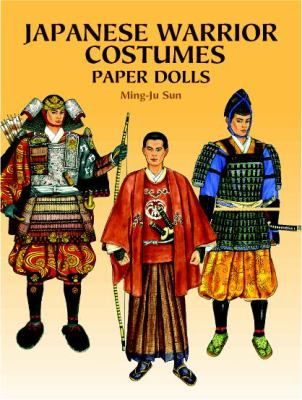 Japanese Warrior Costumes Paper Dolls 9780486410463