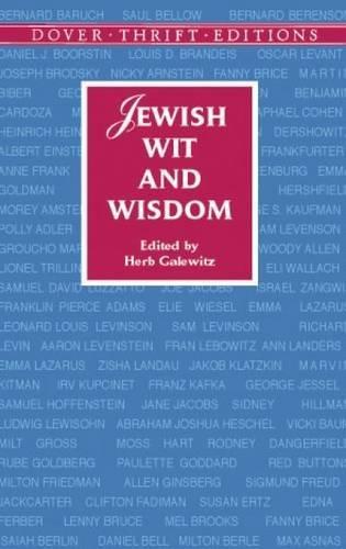 Jewish Wit and Wisdom 9780486419305