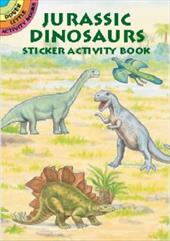 Jurassic Dinosaurs Sticker Activity Book 1602202
