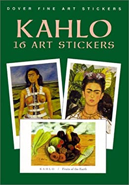 Kahlo: 16 Art Stickers 9780486413501