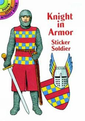 Knight in Armor Sticker Soldier 9780486299334