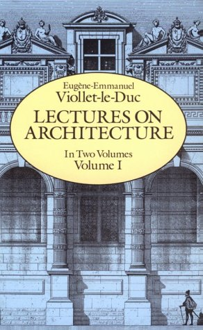 Lectures on Architecture, Volume I 9780486255200