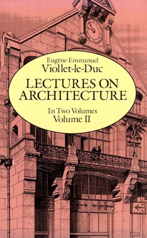 Lectures on Architecture 9780486255217