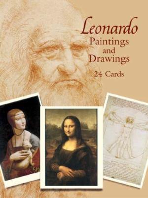 Leonardo Paintings and Drawings: 24 Cards