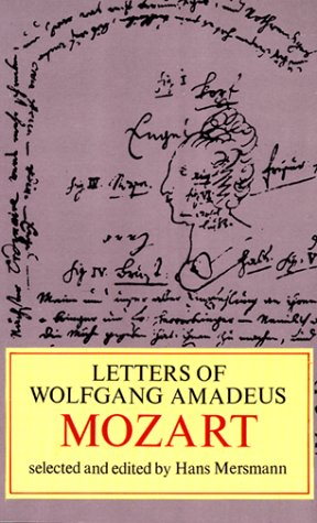 Letters of W. A. Mozart 9780486228594