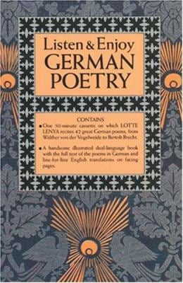 Listen & Enjoy German Poetry (Cassette Edition) 9780486999296