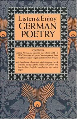 Listen & Enjoy German Poetry (Cassette Edition)