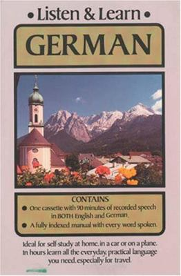 Listen & Learn German Listen & Learn German 9780486999159