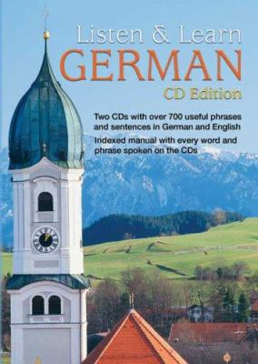 Listen & Learn German [With 66-Page Book]