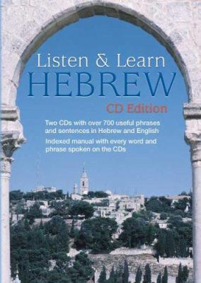 Listen & Learn Hebrew [With 63-Page Book]