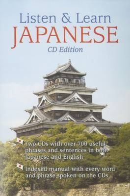 Listen & Learn Japanese [With Booklet] 9780486996714
