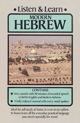 Listen & Learn Modern Hebrew 9780486999234