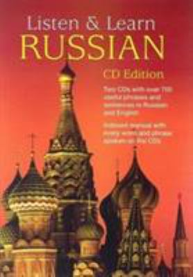 Listen & Learn Russian [With 66-Page Book] 9780486997957