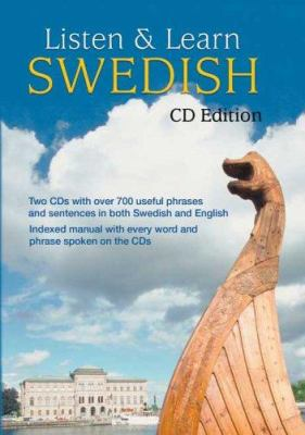Listen & Learn Swedish [With 58-Page Book]