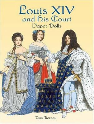 Louis XIV and His Court Paper Dolls 9780486438375