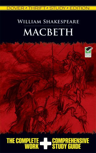 Macbeth Thrift Study Edition 9780486475752