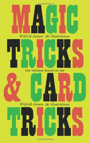Magic Tricks and Card Tricks 9780486209098