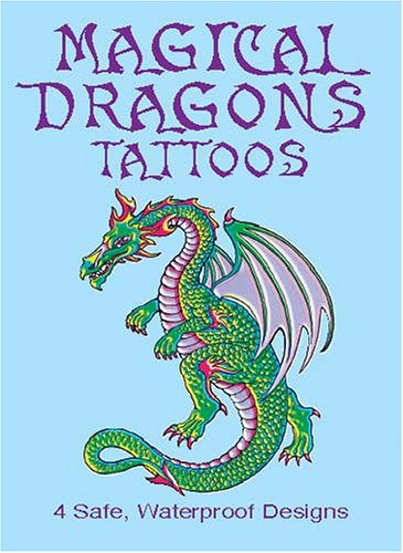 Magical Dragons Tattoos 9780486429021